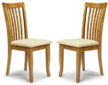 Pair of Newton Maple Dining Chairs
